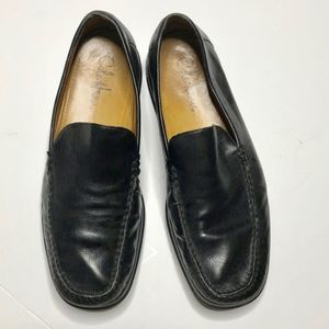 COLE HAAN Black Driving Loafers